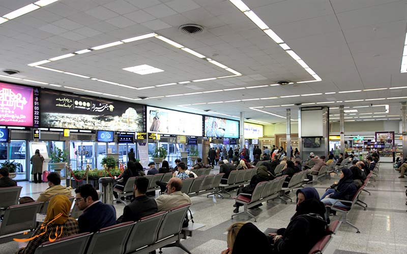عکس فرودگاه مهرآباد ترمینال 4