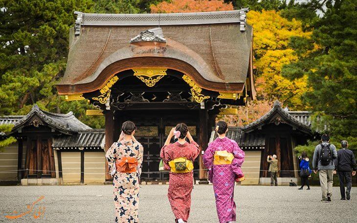 قصر سلطنتی کیوتو