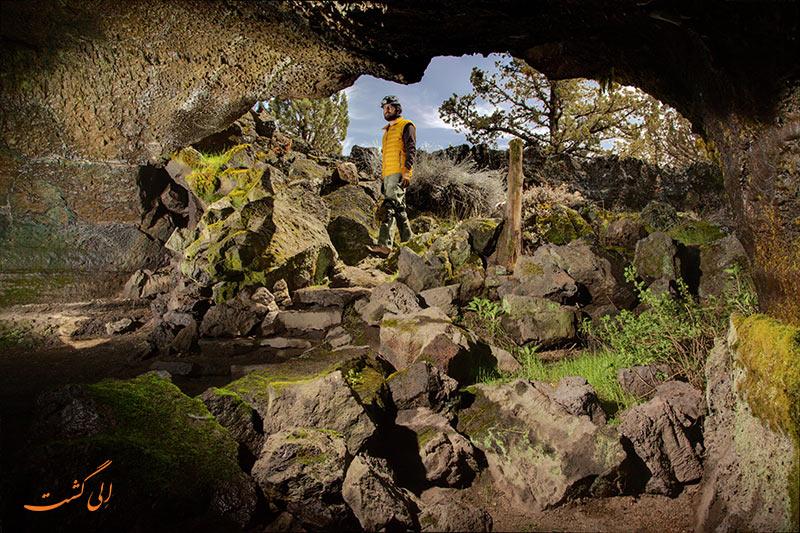 غارهای آتشفشانی ریکجاویک