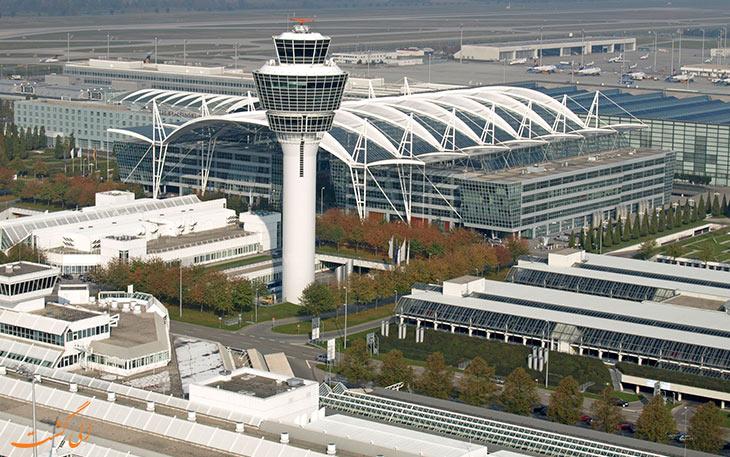 فرودگاه مونیخ آلمان