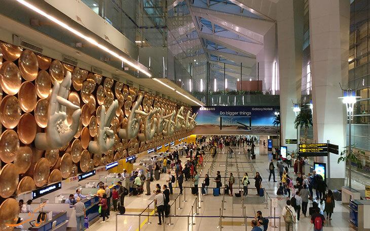 فرودگاه گاندی دهلی
