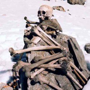 دریاچه استخوان روپکاند در کشور هند
