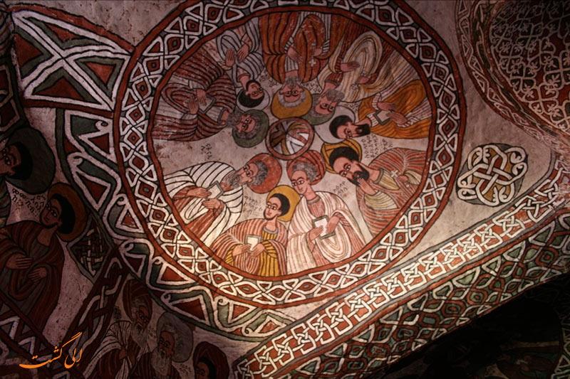 نقاشی های دیواری کلیساهای اتیوپی