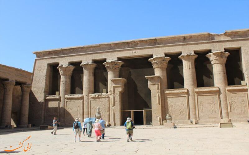 معبد باستانی در مصر