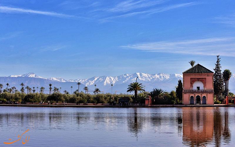 باغ مناره ها در مراکش