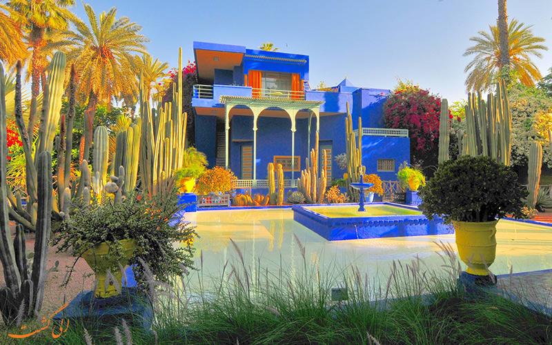 باغ ماژورل در مراکش