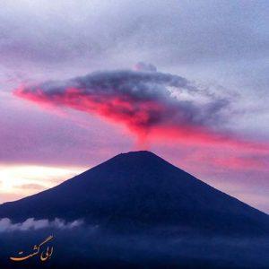 کوه آتشفشانی آگونگ