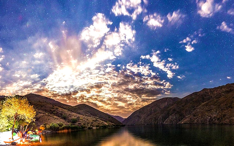 دریاچه گهر دورود در لرستان