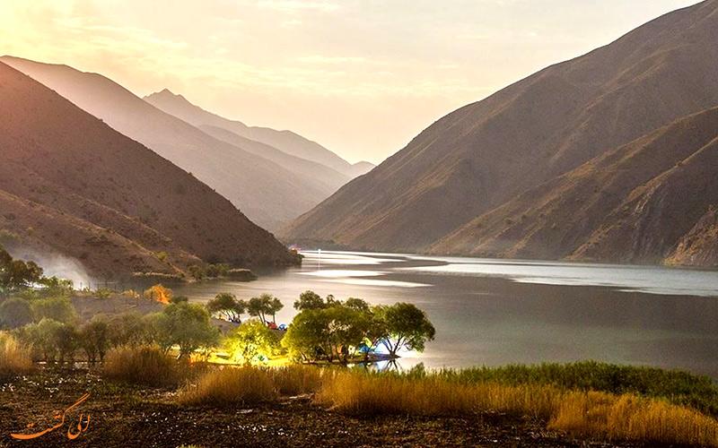 دسترسی به دریاچه گهر