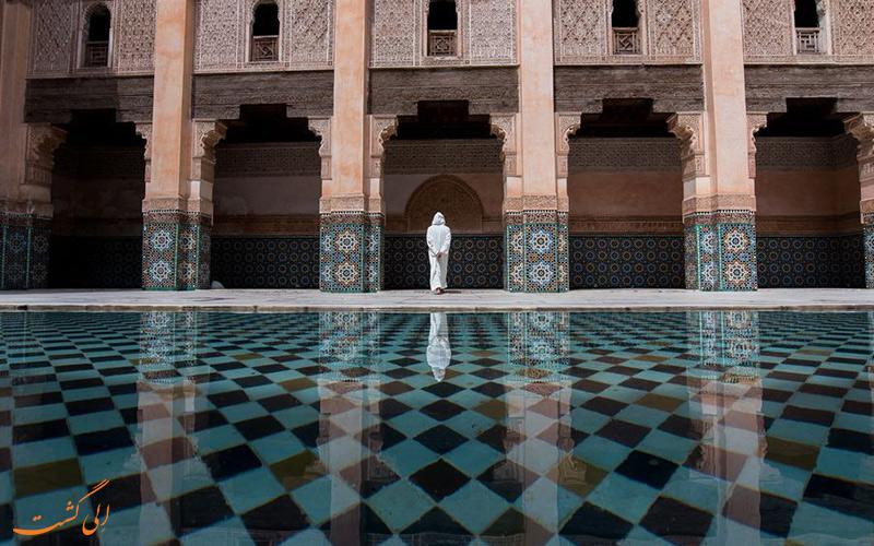 مدرسه ابن یوسف مراکشی