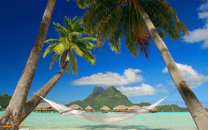 سواحل شنی سفید هائیتی