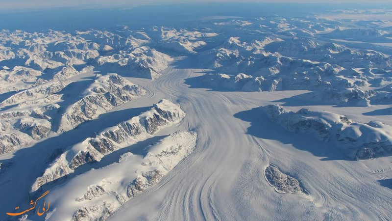 اسکای دایورینگ در یخچال طبیعی فاکس