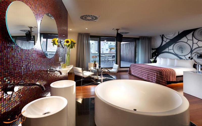اتاق های هتل یورور استارز