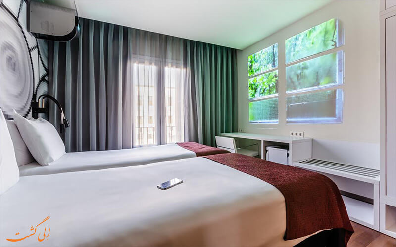 اتاق های هوشمند هتل یورو استارز