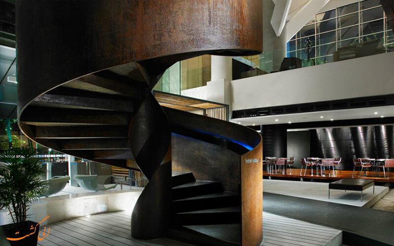 طراحی چوب هتل مایا