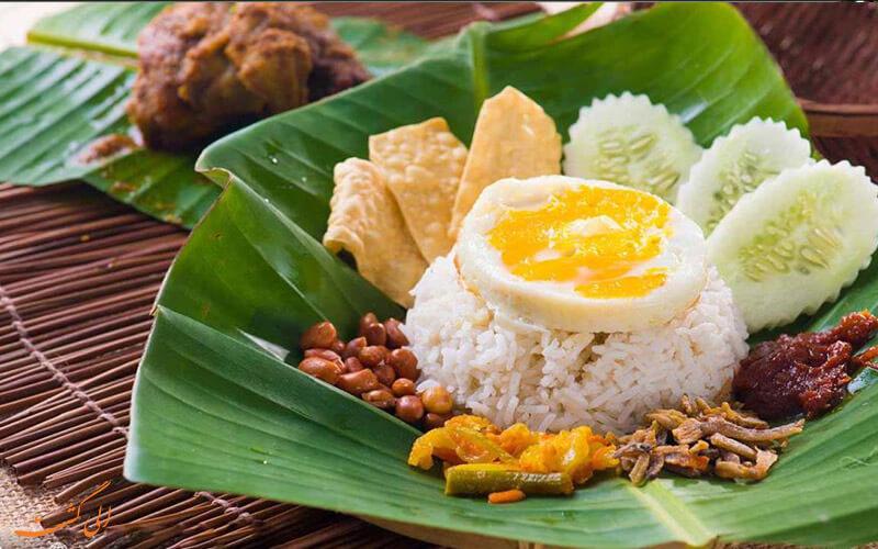 غذاهای محلی مالزی