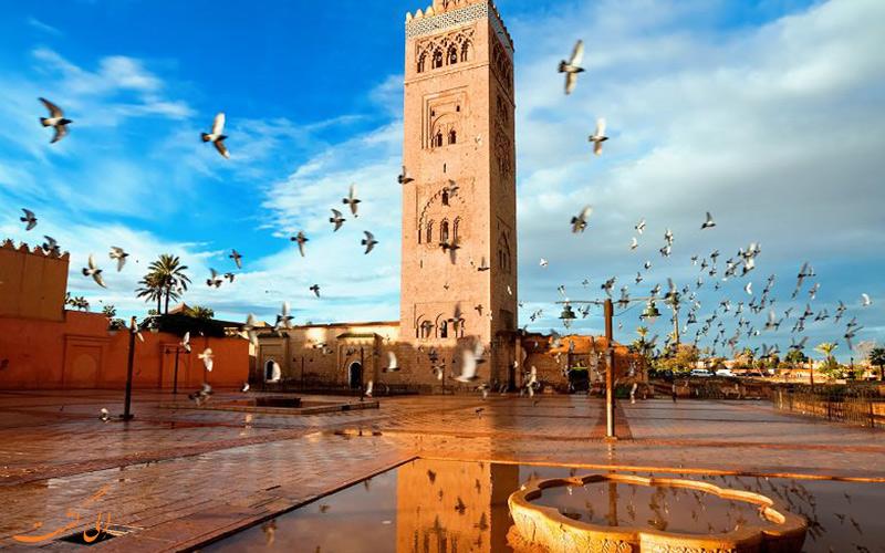 مسجدالکتیبه در مراکش
