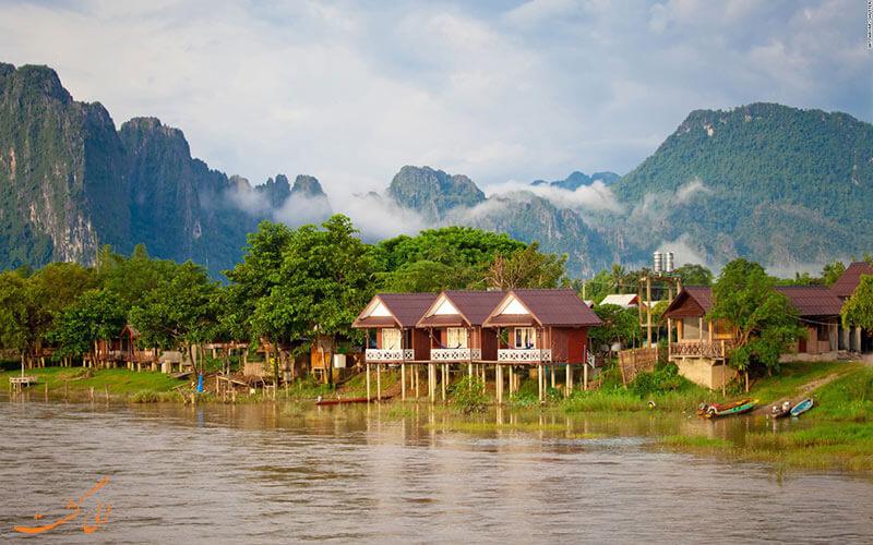 خانه های ییلاقی لائوس- سفر به لائوس- نکات سفر