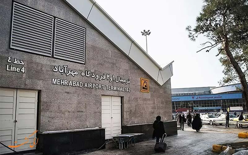 ایستگاه مترو فرودگاه مهرآباد