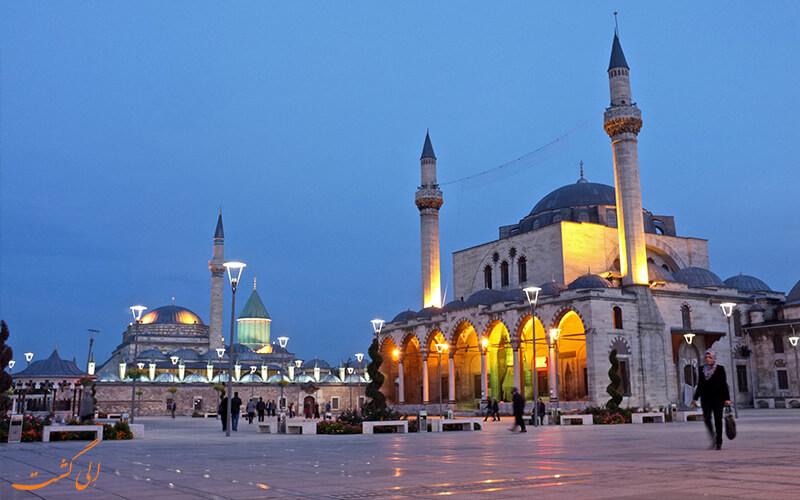 مرکز فرهنگی مولانا در قونیه