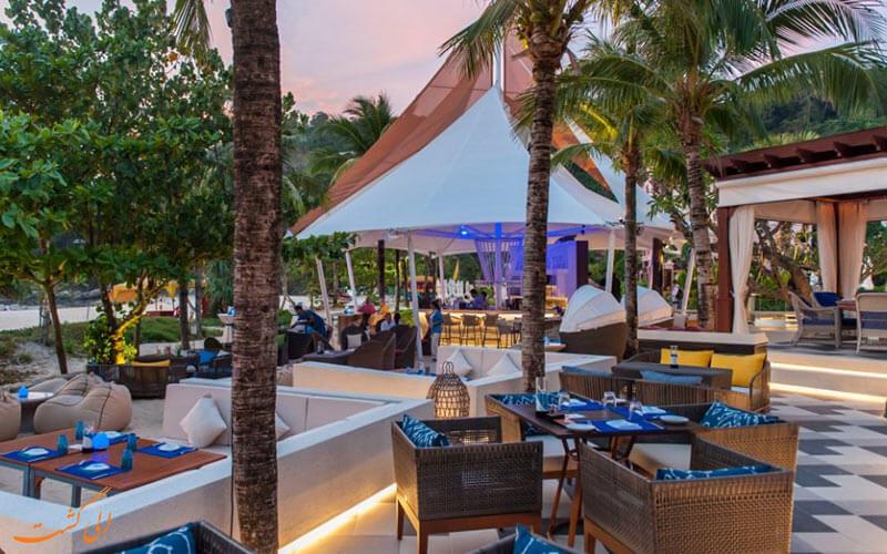 رستوران ساحلی کوبا