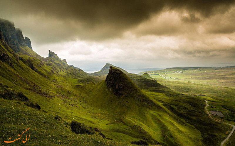 کوه های اسکاتلند