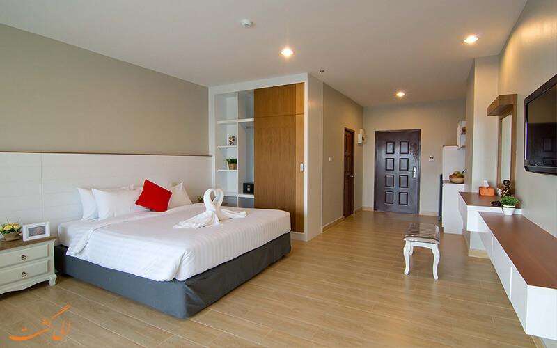 اتاق خواب دونفره هتل سی وی پاتایا