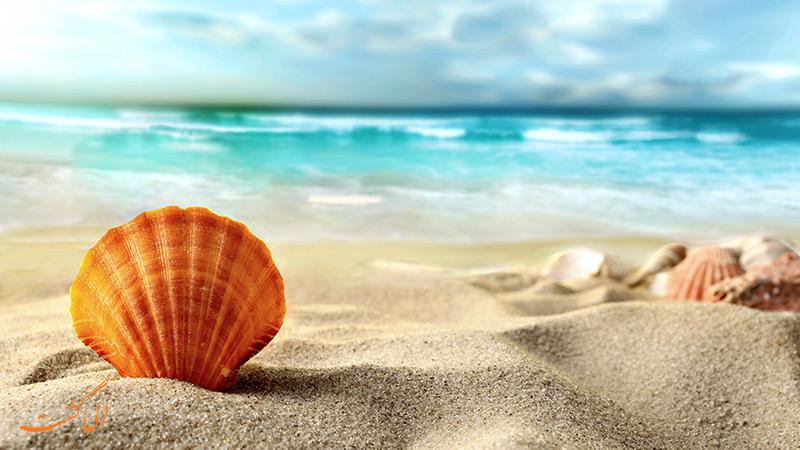 شن های ساحلی