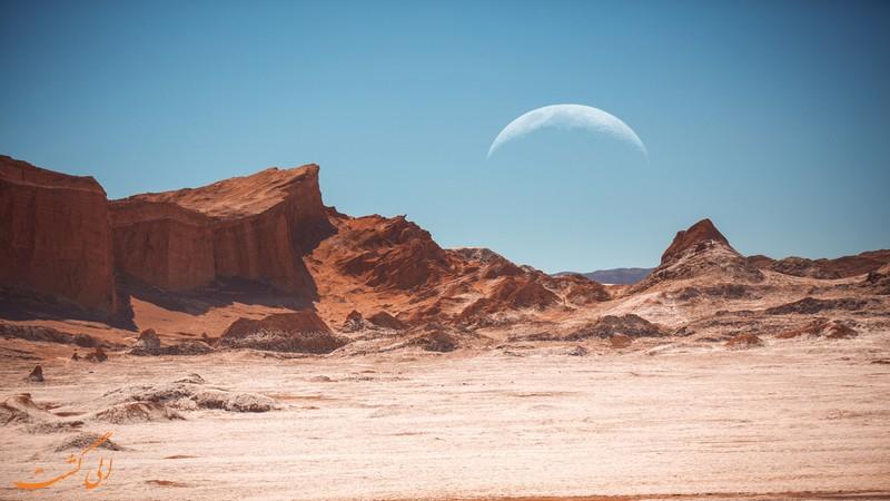 دره ماه در شیلی