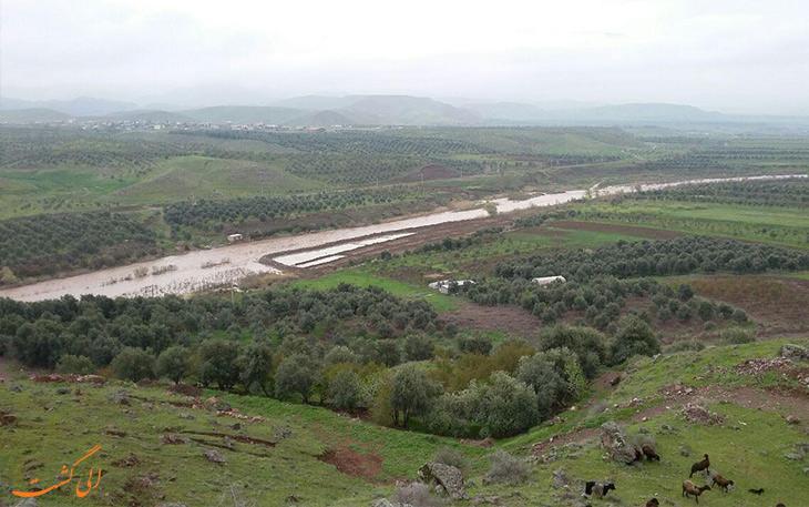 سرخ آباد در شهرستان طارم زنجان