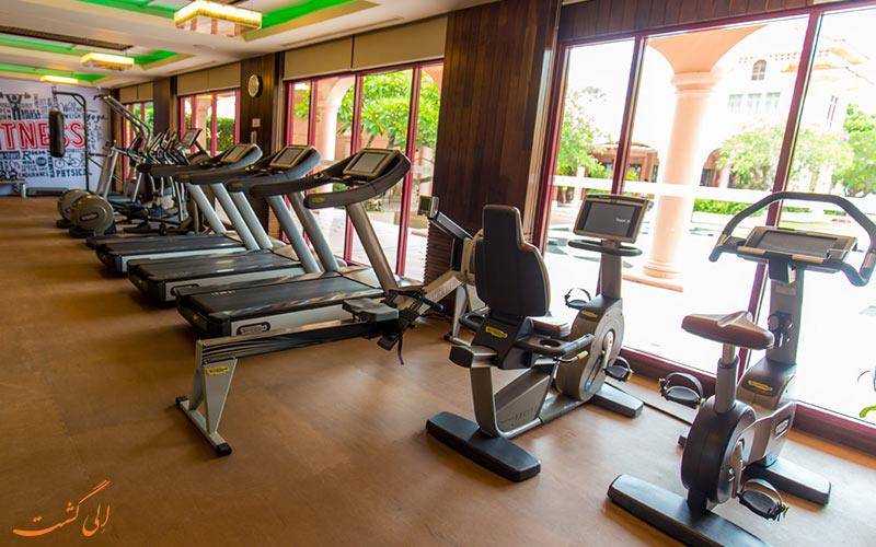 امکانات ورزشی هتل