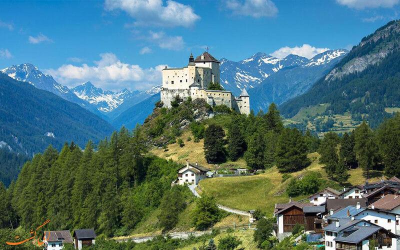 جاذبه های دیدنی کشور سوئیس