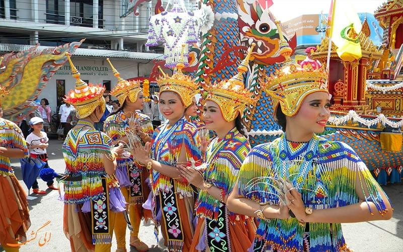 جشن های سنتی در تایلند