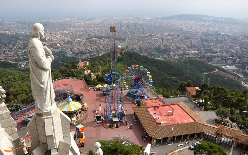 کوه تیبیدابو