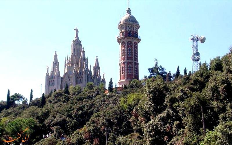 کوه تیبیدابو در اسپانیا