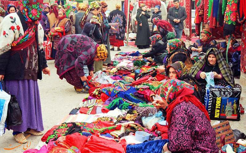 بازار ترکمنستان