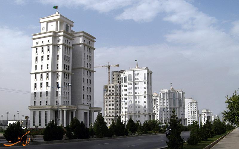 آپارتمان های ترکمنستان