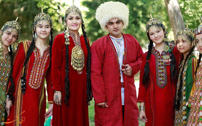 مردمان ترکمنستان