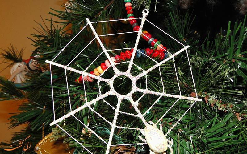 درخت تار عنکبوت کریسمس