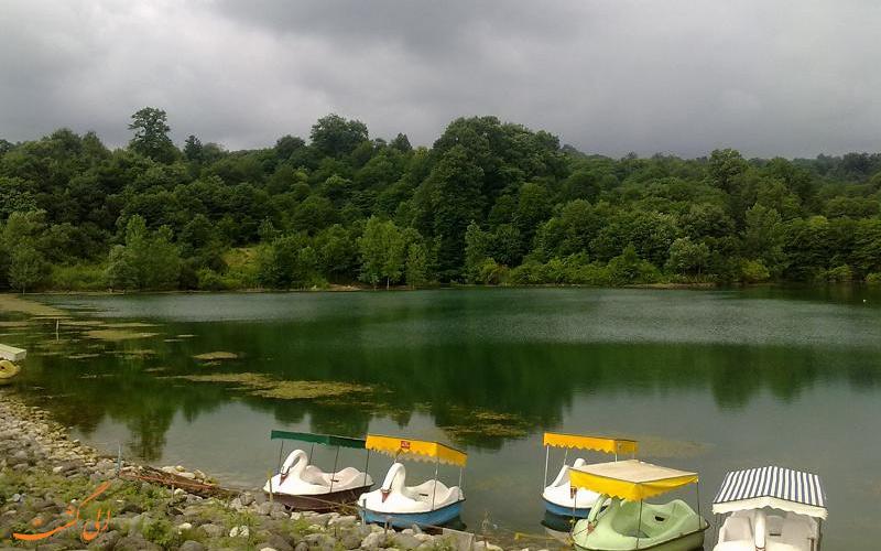 دریاچه-الیمالات-نور-بهترین مناطق شمال ایران