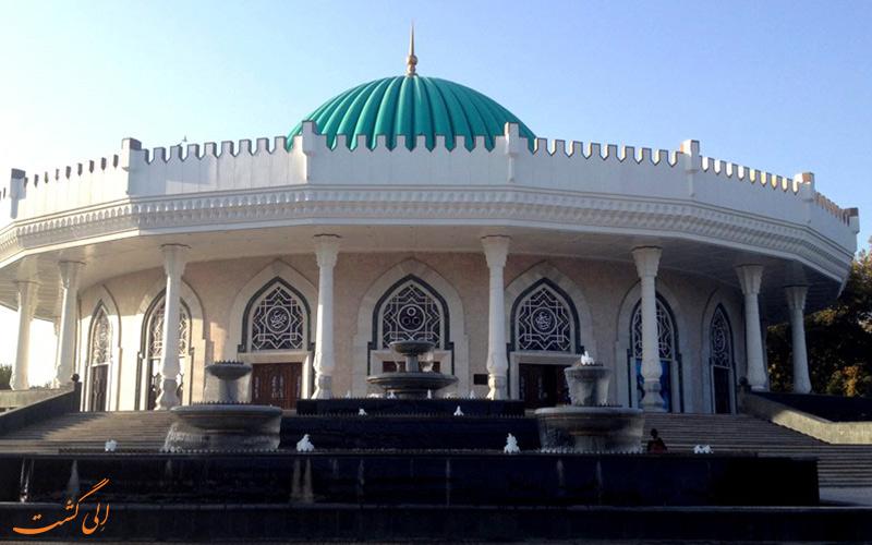 مسجدی-در-تاشکند