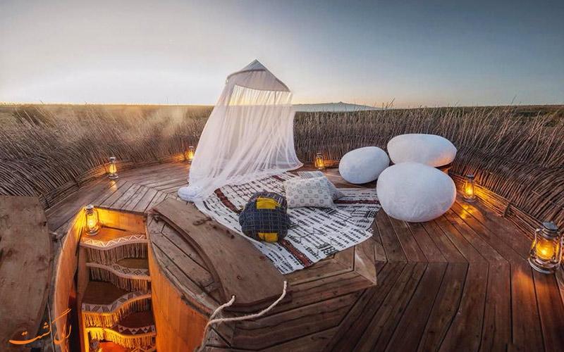 هتل لانه پرنده در کنیا