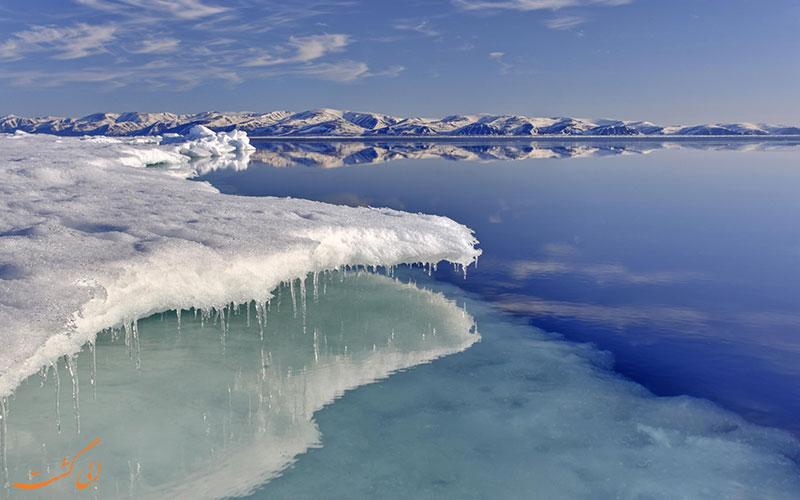 تفاوت قطب شمال و قطب جنوب