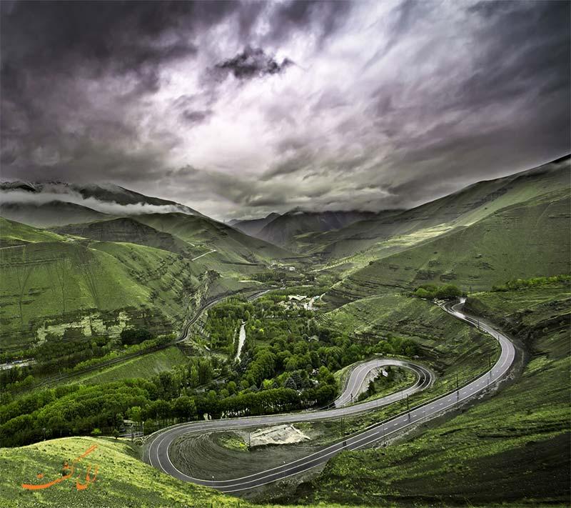 جاده های ایران