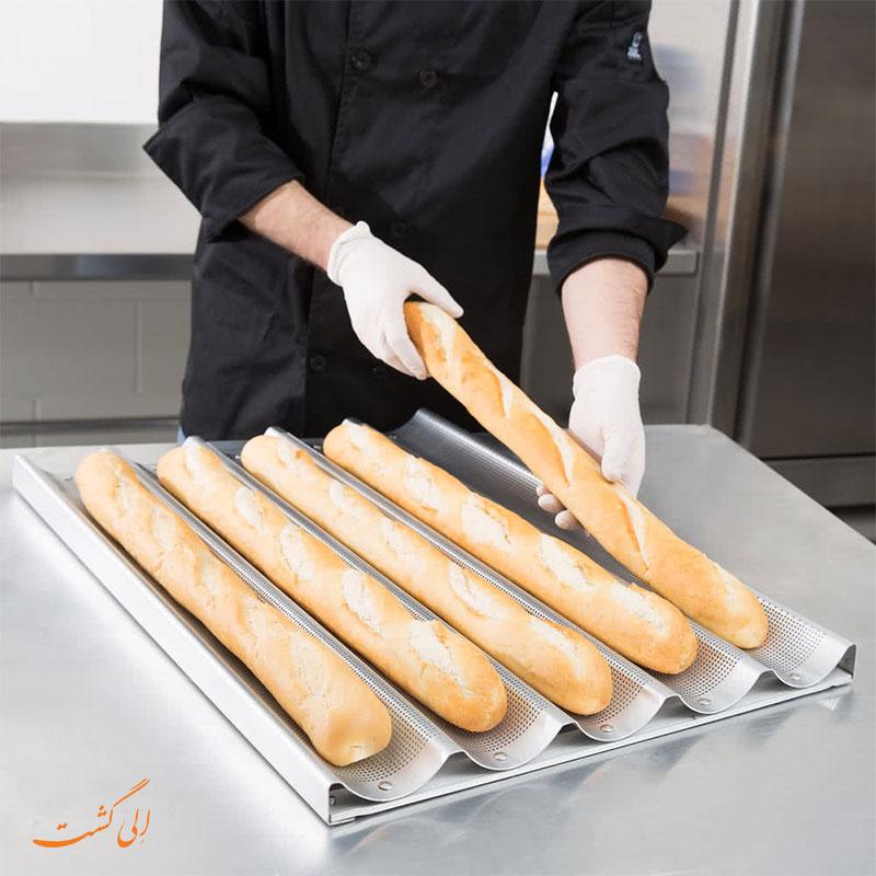 نان باگت فرانسوی