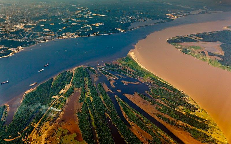شروع رودخانه آمازون