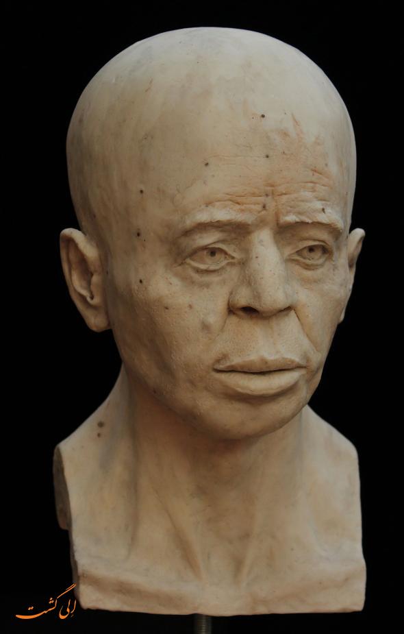 صورت مرد 9500 ساله