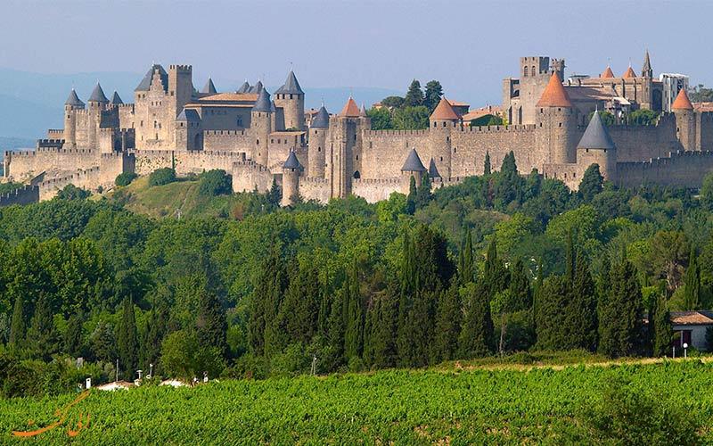 شهر تاریخی Carcassonne