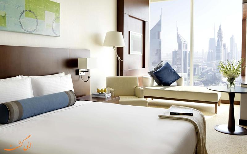 اتاقی در هتل ناسیما رویال دبی