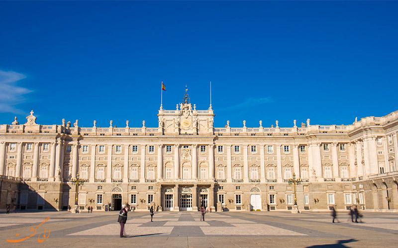 کاخ سلطنتی مادرید